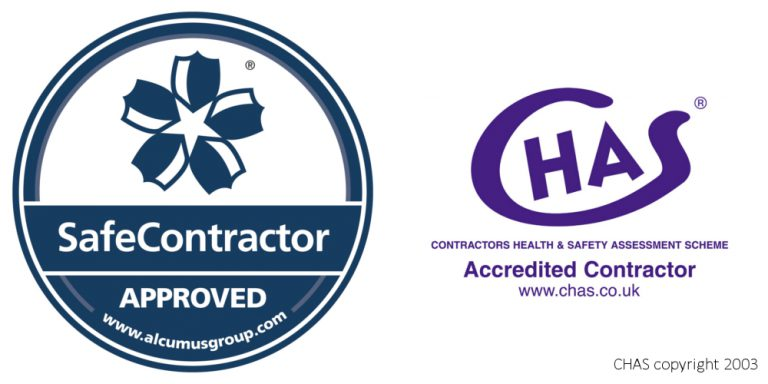 Cinderella Supports Service's Safety Systems are CHAS and SafeContractor Approved