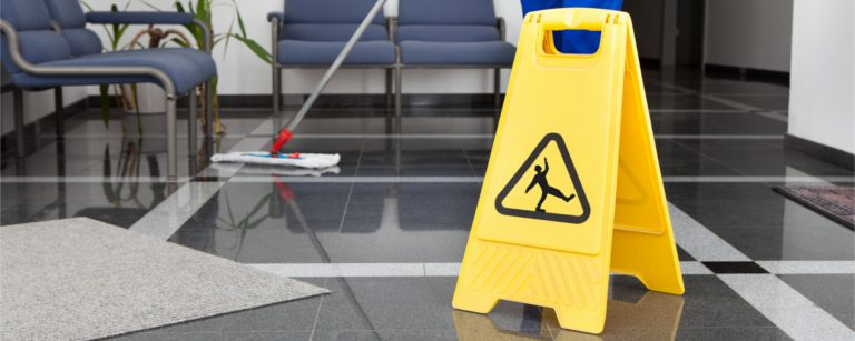 Commercial contract cleaning company