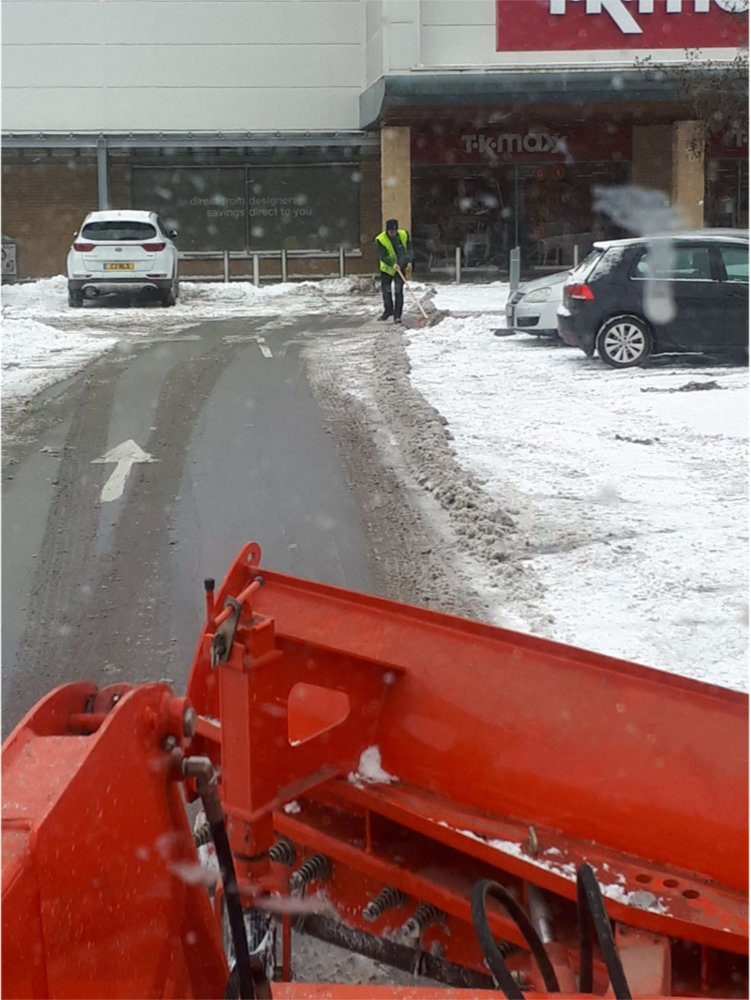 Emergency snow clearance South Yorkshire